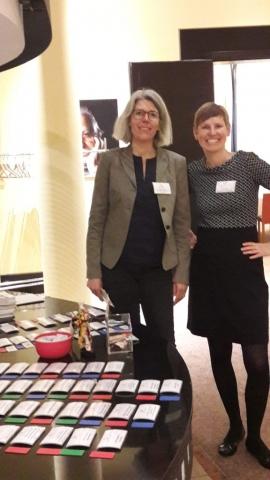 Jutta Harmeyer und Sandra Voit